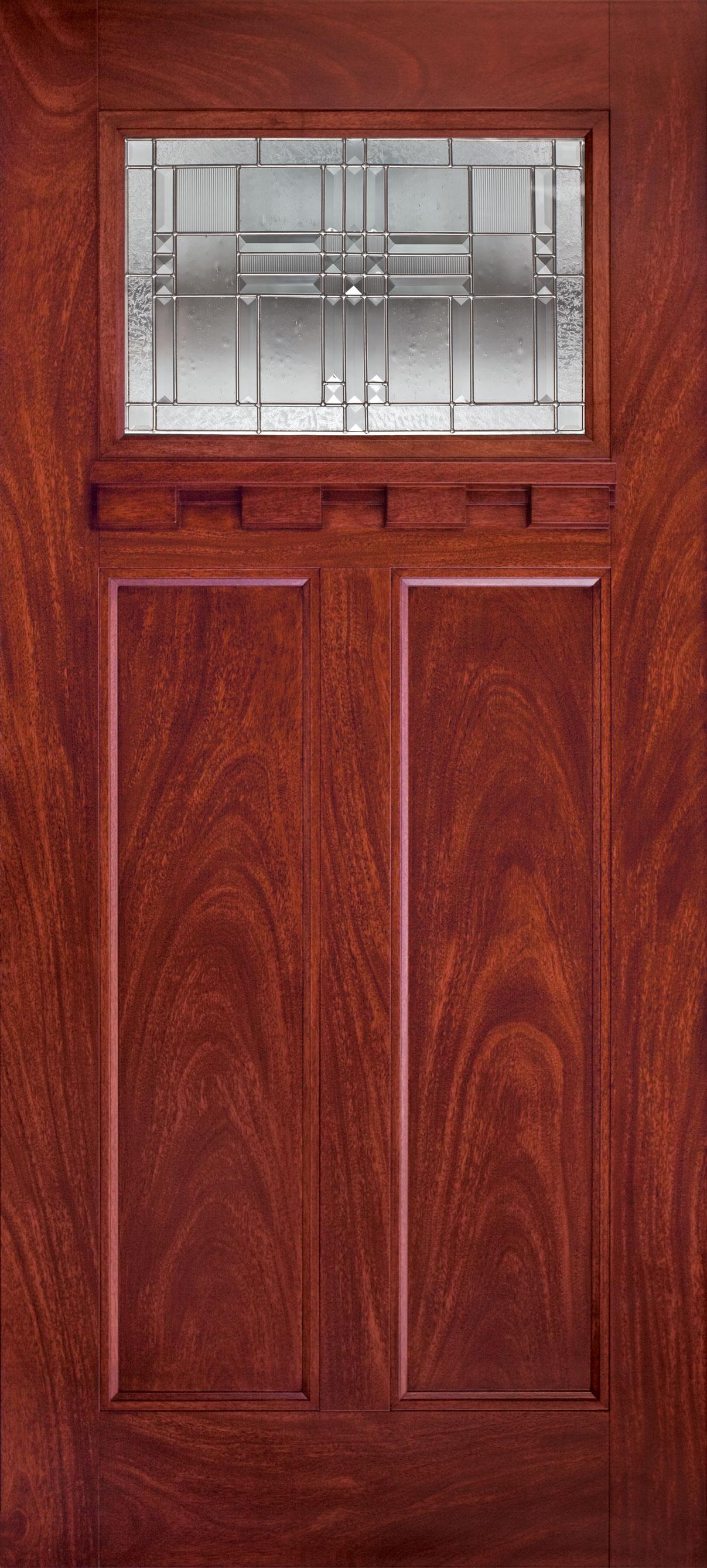 Trinity Glass Monroe Entry Door