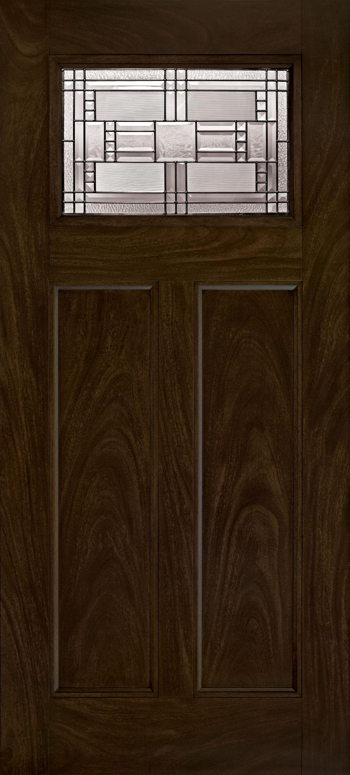 Trinity Glass Preston Entry Door